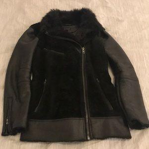 Topshop Faux Fur Jacket